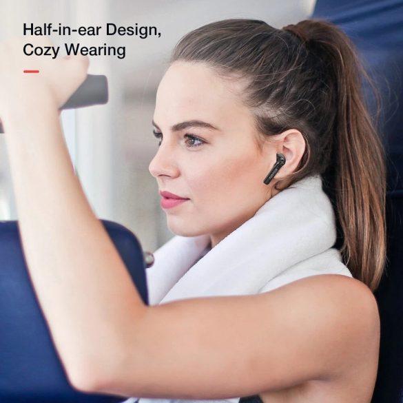 BlitzWolf® AirAux AA-UM7-Ohrhörer - HiFi-Stereobass, Bluetooth 5.0, Touch Control, IPX5 - Schwarz
