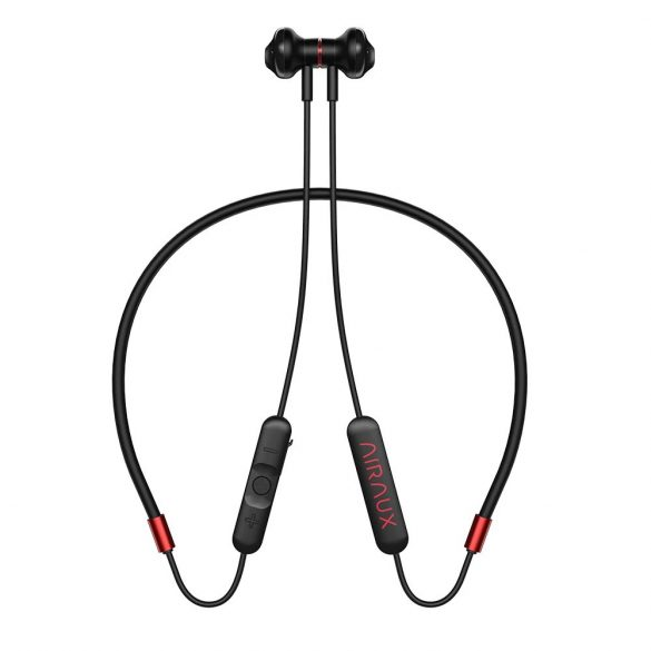 BlitzWolf Airaux AA-NH2 - Magnetlautsprecher, Nackengurt, IPX5 wasserdicht, Bluetooth-Sport-Headset mit Mikrofon