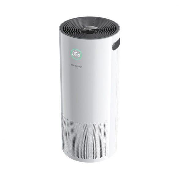 BlitzWolf®BW-AP2 Smart Anion Luftreiniger - 500 m³ pro Stunde, 3-in-1-Filter, leiser Betrieb