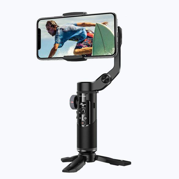 BlitzWolf® BW-BS14 Bluetooth-Selfie-Stick mit 3-Achsen-Gimbal-Stabilisator