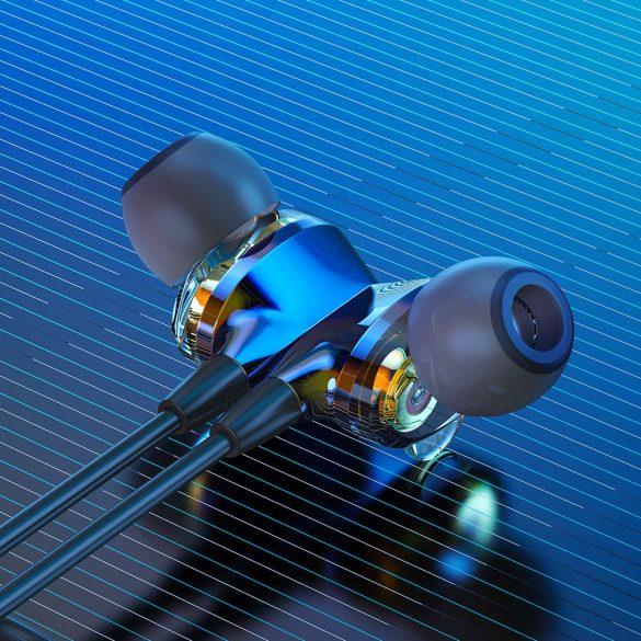 BlitzWolf-BW-BTS4, Bluetooth Kopfhörer, V4.1 In Ear Kopfhörer magnetische Headset IPX5 AptX Stereo Sport Ohrhörer 8 Stunden Spielzeit mit Mikrofon