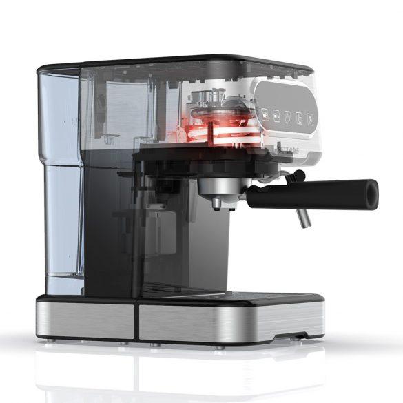 BlitzWolf® BW-CMM2 Espressomaschine - 20 bar, 1100 W, Touch-Tasten