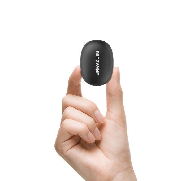 BlitzWolf BW-FYE5s TWS Bluetooth 5.0 Kopfhörer Dynamic Driver Heavy Bass Stereo zweiseitige Anrufe Kopfhörer mit Ladebox