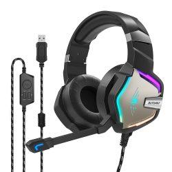 7.1 Surround-Gamer-Kopfhörer - BlitzWolf BW-GH1; RGB LED, Rauschunterdrückung, ergonomisches Design
