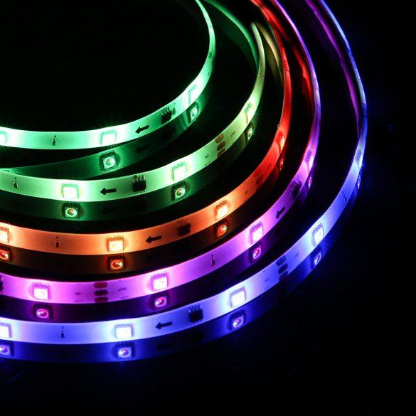BlitzWolf® BW-LT33 Smart LED-Streifen - 5 m lang, App- und IR-Fernbedienung, Musikmodus, verschiedene Lichteffekte