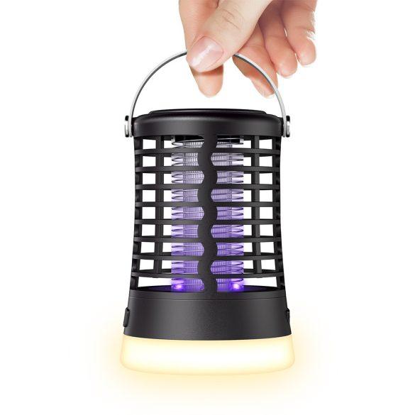 BlitzWolf®BW-MLT1 - Insektenvernichter, Moskito Killer, mit UV Elektronischen Mückenvernichter und Batterie. IP66 wasserdicht