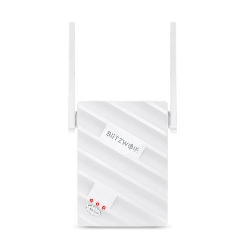 BlitzWolf®BW-NET3 - 2,4G + 5G Dualband-WLAN-Repeater; Reichweite: 1200 m; 2x3,5dBi-Antenne, 1167 Mbit / s