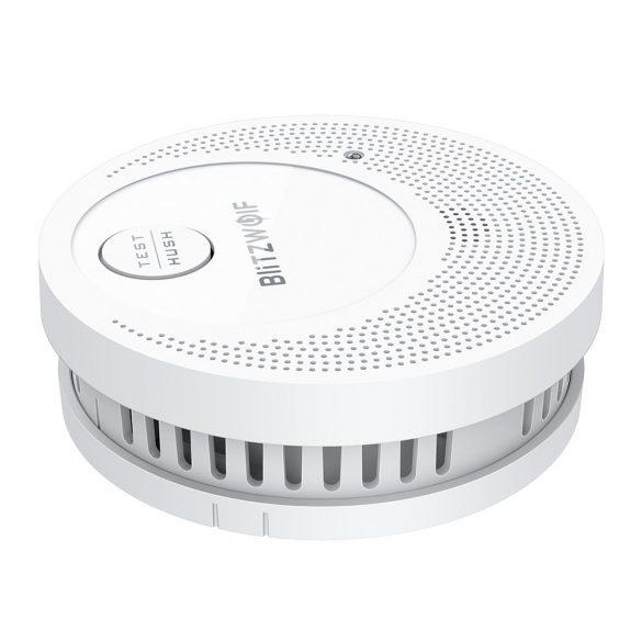 Blitzwolf® BW-OS1 Standalone-Rauchmelder: 3 Jahre Batterielebensdauer, ≥85 dB Alarm,