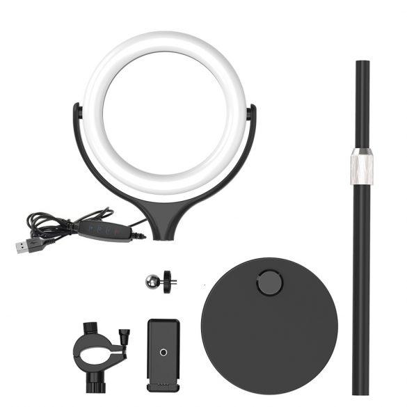 Desktop Flash LED Telefonhalter BlitzWolf® BW-SL4; 3 Farbtemperaturen, stufenloses Dimmen