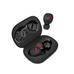BlitzWolf® AIRAUX AA-UM1 Wahre drahtlose Bluetooth 5.0-Kopfhörer-HiFi-Stereo-Kopfhörer mit Ladetasche - Schwarz