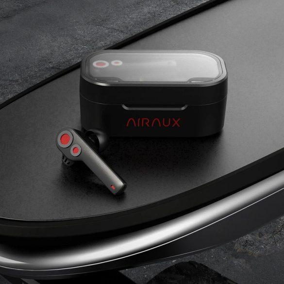 BlitzWolf® AirAux AA-UM6 TWS Bluetooth 5.0 Kopfhörer Dual Dynamic Drivers IPX5, Touch Control Typ C Ladung - Schwarz