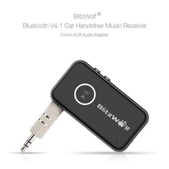 BlitzWolf® BW-BC1 - USB-Ladegerät und FM-Sender für Zigarettenanzünder