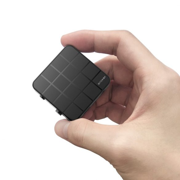 Bluetooth Transmitter Empfänger, BlitzWolf BW-BL2 Bluetooth 5.0 Receiver Sender Bluetooth Audio Adapter