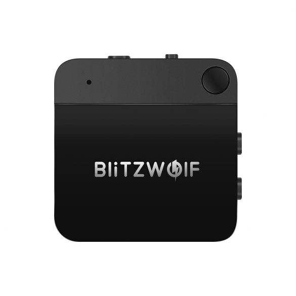 BlitzWolf BW-BR2 - Bluetooth Transmitter Empfänger, 2 in 1 Bluetooth 5.0 Receiver Sender AptX Bluetooth Audio Adapter