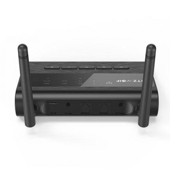 Bluetooth Transmitter Empfänger, BlitzWolf BW-BR5 Bluetooth 5.0 Receiver Sender AptX HD Bluetooth Audio Adapter