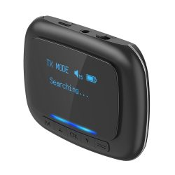 Bluetooth Transmitter Empfänger, BlitzWolf BW-BR6 Bluetooth 5.0 (aptX Low Latencyfor Bluetooth®) Receiver Sender AptX HD Bluetooth Audio Adapter