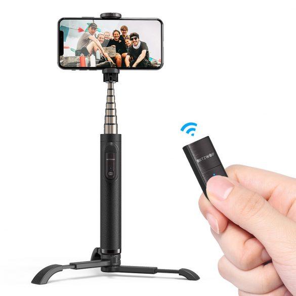 BlitzWolf BW-BS9 Compact Bluetooth Selfie Stick Stativ