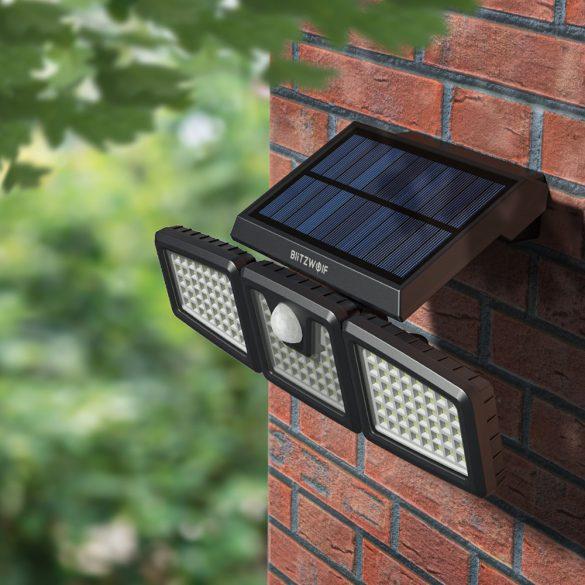 Outdoor Solar Lampe - BlitzWolf BW-OLT4 mit Bewegungsmelder, IP64 wasserdicht