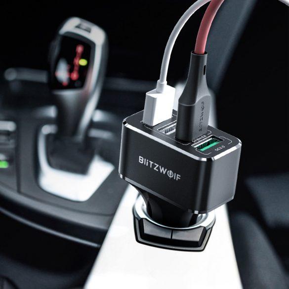 BlitzWolf® BW-SD3 50W Auto-Ladegerät