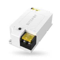 BlitzWolf® BW-SS1 WiFi-Smart-Switch-Controller 15A / 3300W mit maximaler Last, App-Steuerung, Timer, Sprachsteuerung und Status-Feedback
