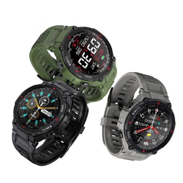 """Blitzwolf® BW-AT2 (Grau) Sport Smart Watch - 10-15 Tage Akkulaufzeit, 1,3 """"IPS-Display, unzählige integrierte Funktionen"""