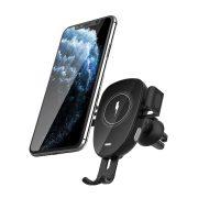 BlitzWolf® BW-CW2 - 15 W kabelloses Schnellladegerät + Autotelefonhalter - für alle Telefone, die kabelloses Laden unterstützen (QI-Standard)