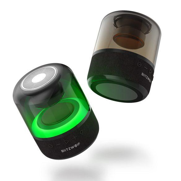 BlitzWolf® BW-AS4 Bluetooth RGB-Hintergrundbeleuchtung, 20 W, 5 Stunden Wiedergabezeit, kraftvoller Bass