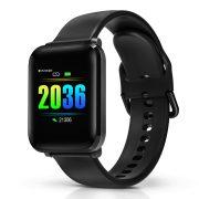 BlitzWolf® BW-HL1 1.3 'IPS 8 Sportmodus IP68 Mehrsprachiges Display HR Blutdruck O2 15 Tage Standby Smart Watch