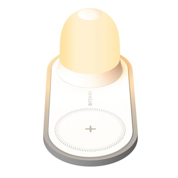 BlitzWolf® BW-LT26 LED Nachtlicht mit kabellosem Ladegerät