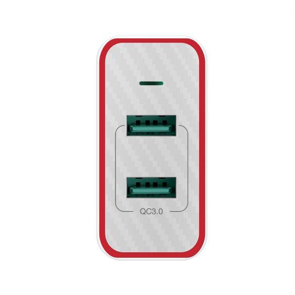 36W 2-Ports QC3.0 USB-Schnellladegerät - BlitzWolf® BW-PL3 Einzigartiges Design, mehrschichtiger Schutz
