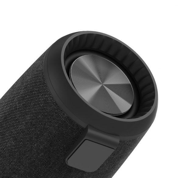 BlitzWolf® BW-WA1 12 W Drahtloser Bluetooth 5.0-Lautsprecher Dual Passive Membran TWS Stereo-TF-Karte U-Disk-Lautsprecher mit Mikrofon - Schwarz