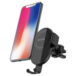 BlitzWolf BW-CW1 - Autotelefonhalter mit drahtlosem Ladegerät