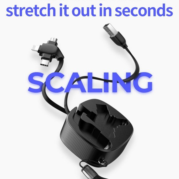 JOYROOM S-M366 3in1: Type C, Apple Lightning, Micro USB -Kabel
