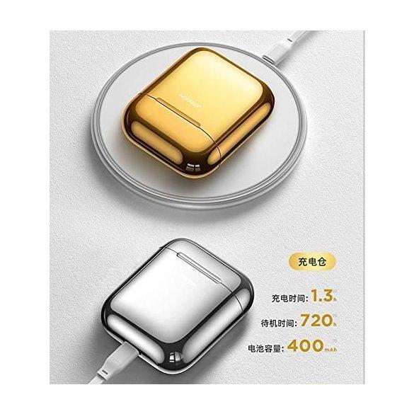 JOYROOM T03S - QI (kabelloses) Laden wird unterstützt, TWS drahtlose Bluetooth 5.0-Kopfhörer, Gold