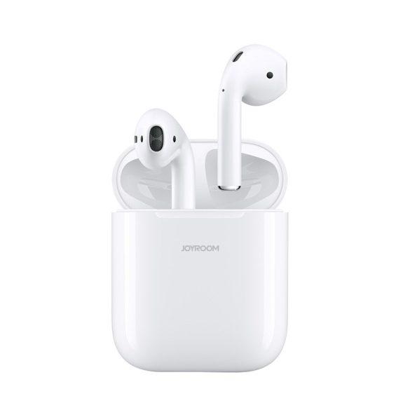 JOYROOM T03S - QI (kabelloses) Laden wird unterstützt, TWS drahtlose Bluetooth 5.0-Kopfhörer, Weiß