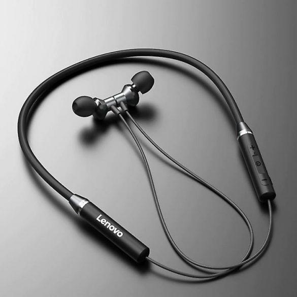Lenovo HE05 Pro Red - In-Ear-Kopfhörer mit Nackenbügel und Mikrofongeräuschunterdrückung, IPX5, kabelloser Bluetooth 5.0-Kopfhörer