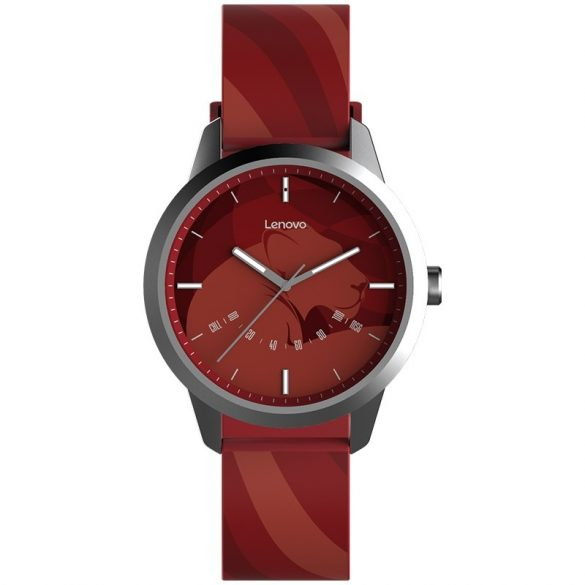 Lenovo Watch 9 - wasserdichte Hybrid-Smartwatch, IP67 wasserdicht - rot