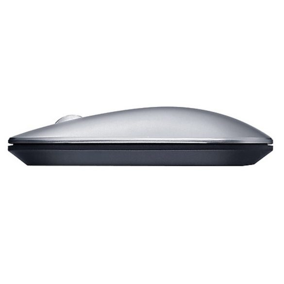 Lenovo Air2 Wireless Mouse - Bluetooth + 2,4 GHz Wireless-Verbindung, 10 Meter Reichweite - Silber