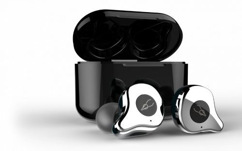 Sabbat E12 silver mit QI-wireless charging- TWS Kabellose Bluetooth-Kopfhörer In-Ear-Headsets Bluetooth 5.0 Auto-Pairing mit 750mAh-Ladebox Unterstützt Wireless Charge