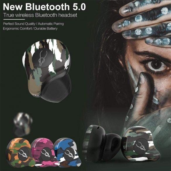 Sabbat X12 Amazon - TWS Kabellose Bluetooth-Kopfhörer In-Ear-Headsets Bluetooth 5.0 Auto-Pairing mit 750mAh-Ladebox Unterstützt