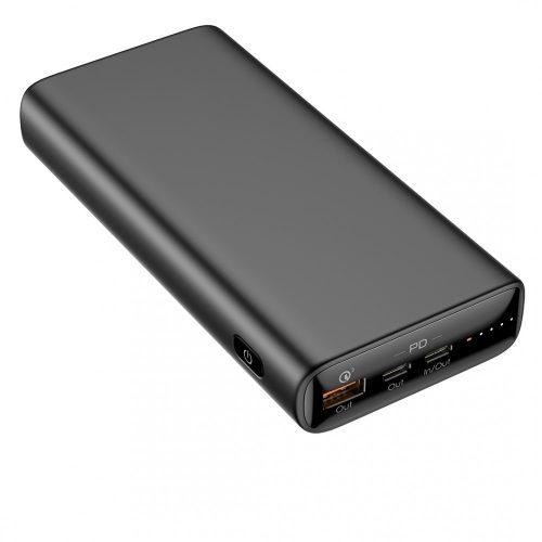 Veger T65A - Schnellladung (PD65W) Laptop-Powerbank - 20000mAh, 3 USB-Ladeanschlüsse