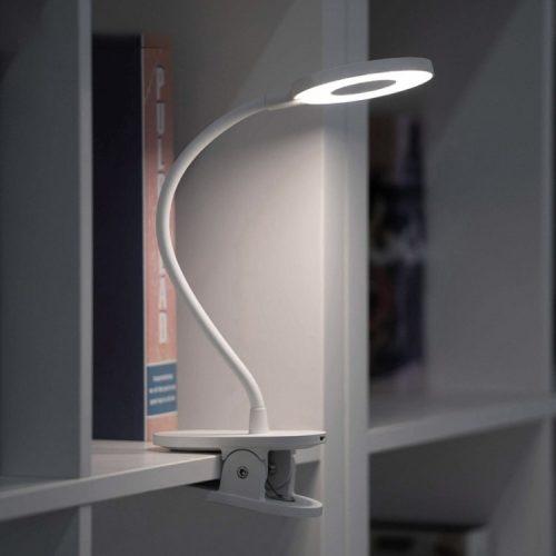 Flexible Lampe zum Aufstecken Xiaomi Yeelight J1 Stabile Klemme, 3 Helligkeitsstufen, 3900K Farbtemperatur, Augenschutz, Touch-Taste, Freiwinkel
