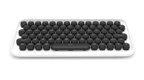 Xiaomi Youpin LOFREE Mechanische Tastatur - mechanisch (blue switch keys) RGB-LED-Beleuchtung, kabelgebunden und kabellos - weiß