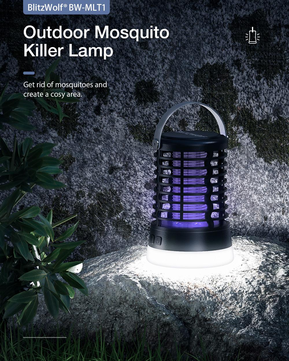 Blitzwolf ML1T szúnyogírtó UV lámpa