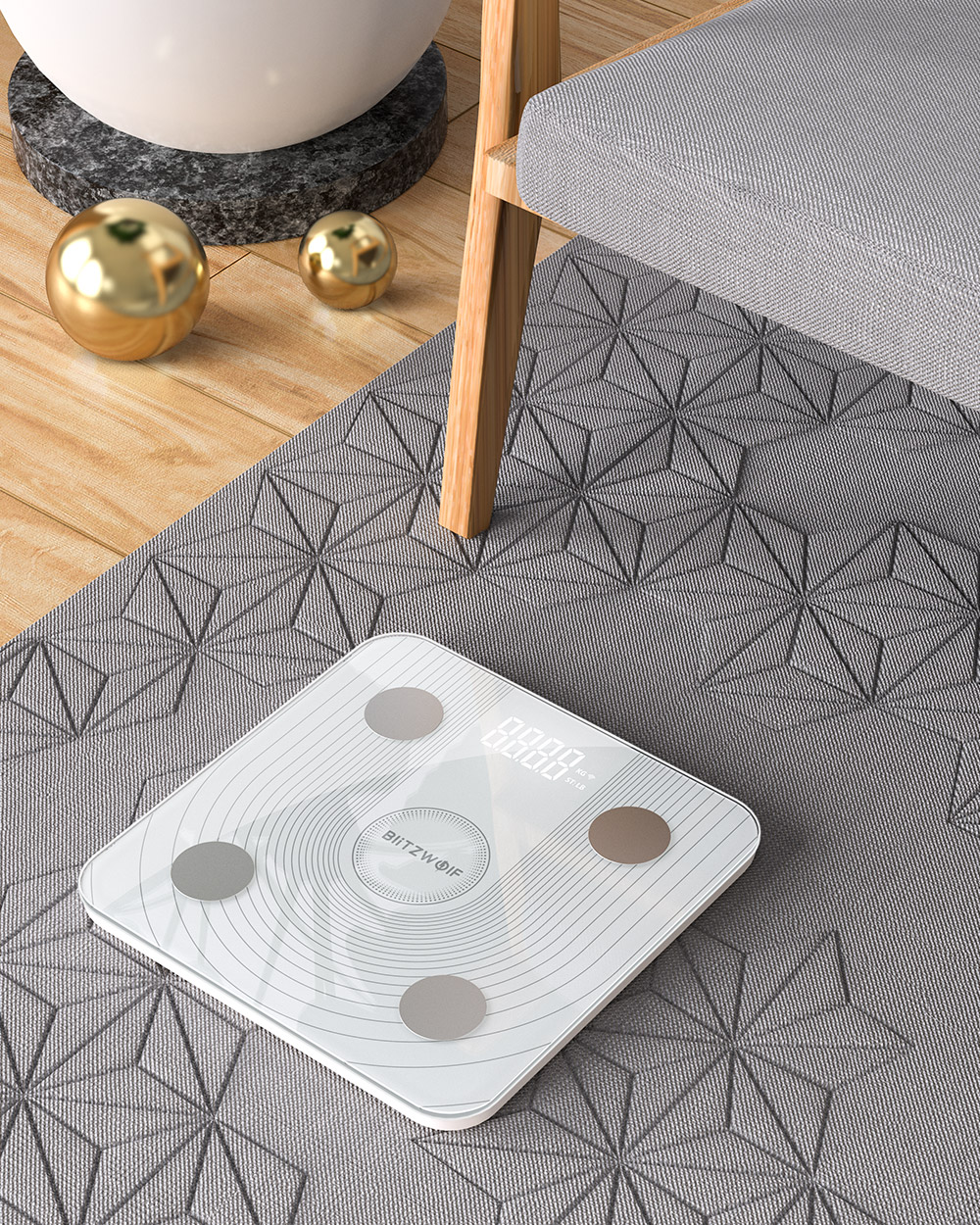 Blitzwolf® BW-SC1 smart scale