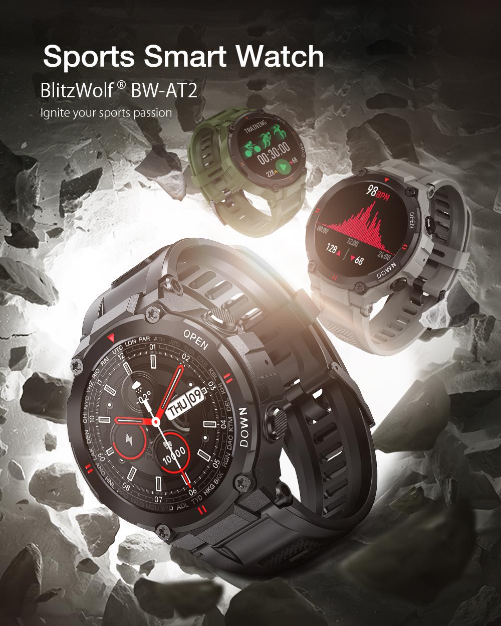 Blitzwolf BW-AT2 sport smart watch