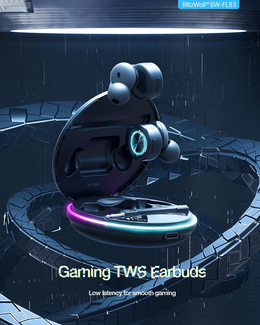 Blitzwolf BW-FLB3 - Gamer fülhallgató