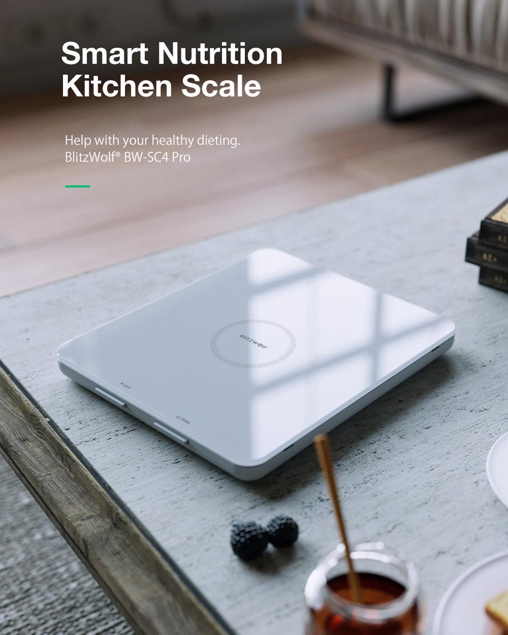 Smart Nutrition Kitchen Scale