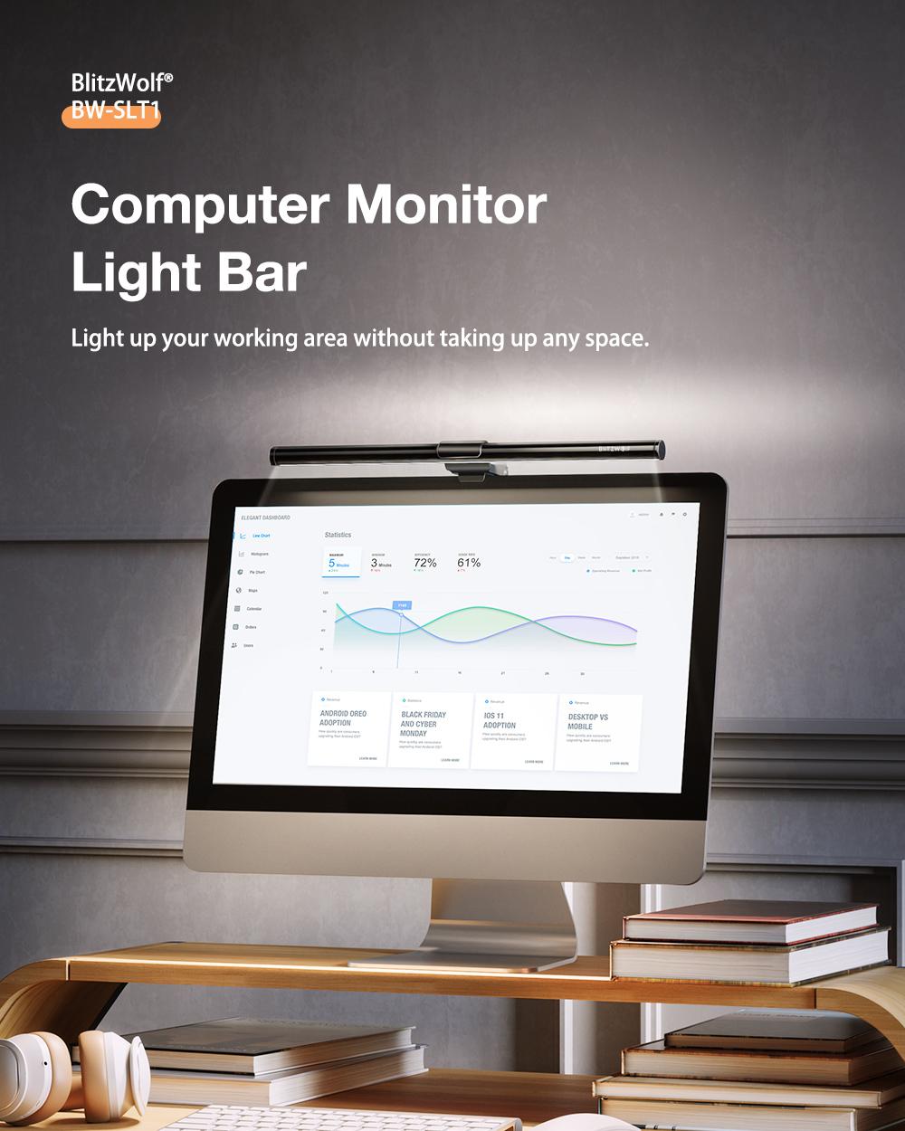 Blitwzolf BW-SLT1 Monitor világító lámpa