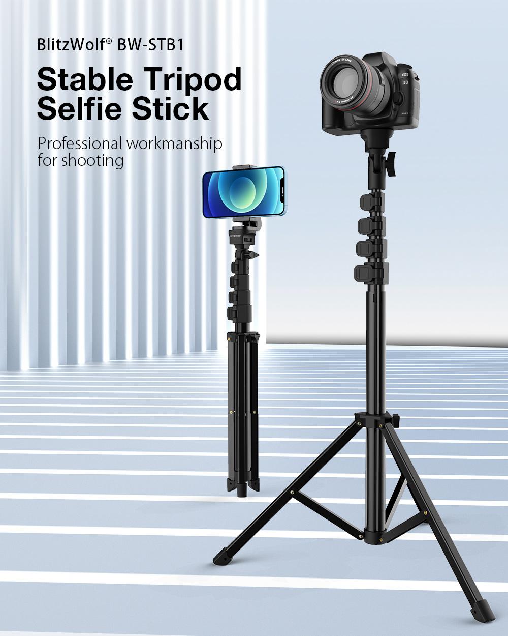 BlitzWolf BW-STB1 kamera állvány